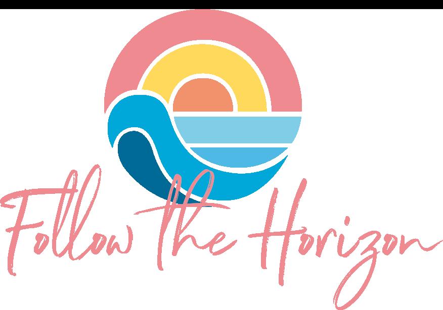 Logo Follow the horizon PNG