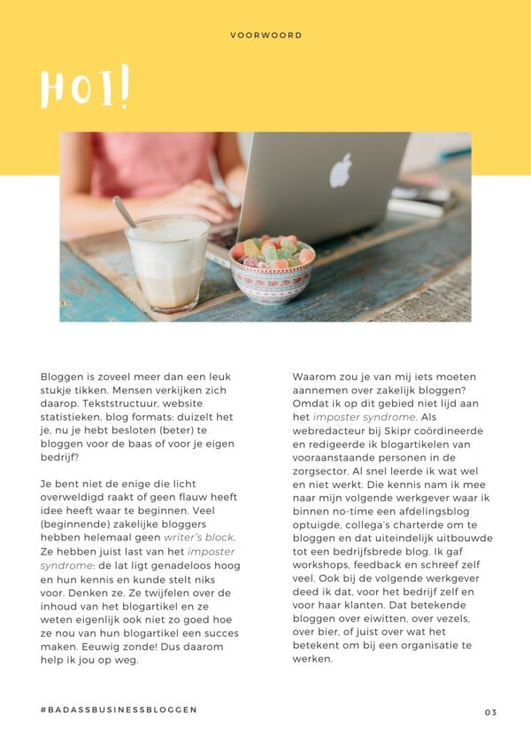 Business bloggen