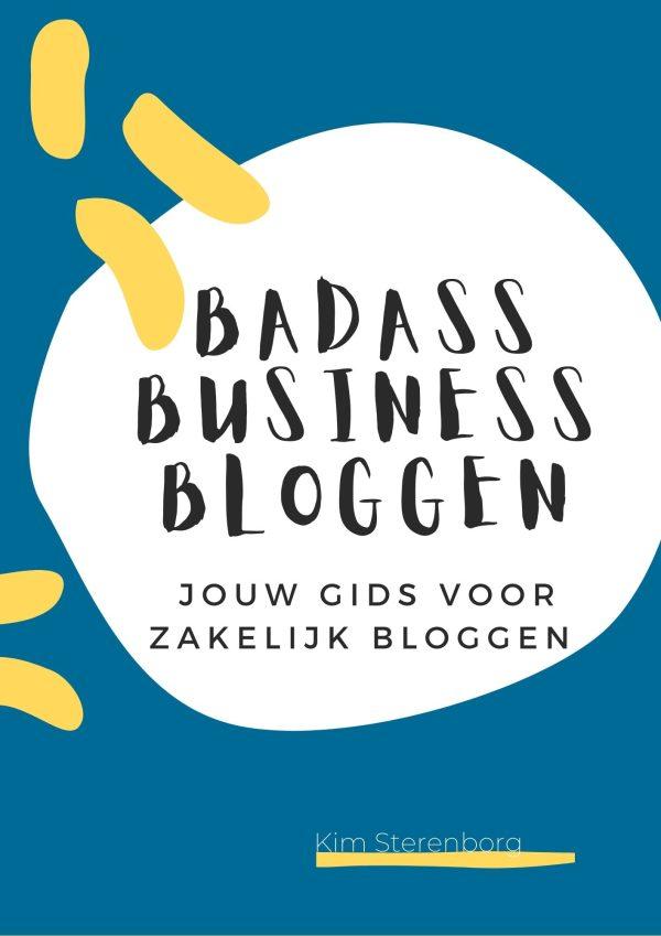 Zakelijk bloggen e-book